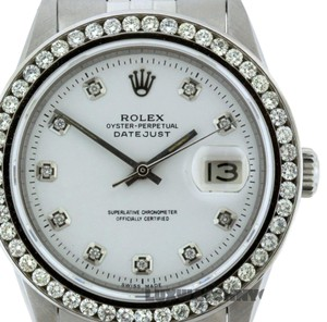 Rolex 1.7CT 36MM ROLEX DATEJUST S/S WATCH WITH BOX & APPRAISAL