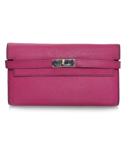 Preload https://img-static.tradesy.com/item/23336767/hermes-pink-kelly-rose-tyrien-chevre-mysore-leather-longue-wallet-0-0-540-540.jpg