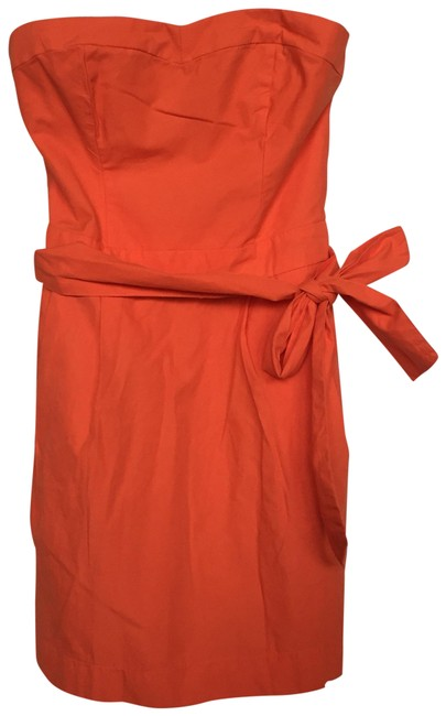 Preload https://item3.tradesy.com/images/abercrombie-and-fitch-orange-anf-159135120-short-casual-dress-size-petite-8-m-23336777-0-1.jpg?width=400&height=650