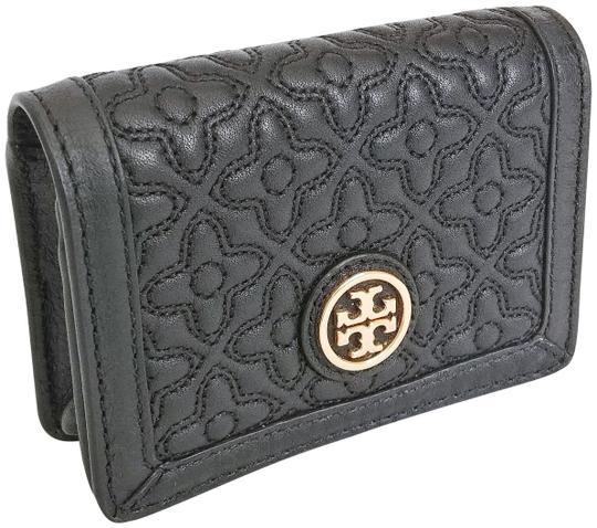 Preload https://item1.tradesy.com/images/tory-burch-black-bryant-foldable-card-case-quilted-leather-wallet-23336805-0-1.jpg?width=440&height=440