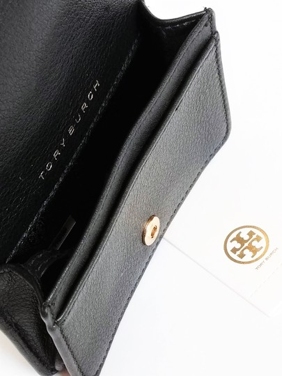 Tory Burch Tory Burch Bryant Foldable Card Case Quilted Leather