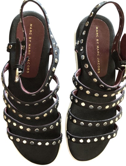 Preload https://img-static.tradesy.com/item/23336808/marc-by-marc-jacobs-brand-new-sale-just-reduced-black-studs-sandals-size-us-8-regular-m-b-0-1-540-540.jpg