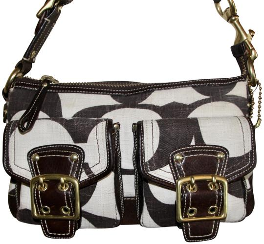 Preload https://item2.tradesy.com/images/coach-signature-print-chocolate-brown-and-cream-linen-leather-hobo-bag-23336811-0-2.jpg?width=440&height=440