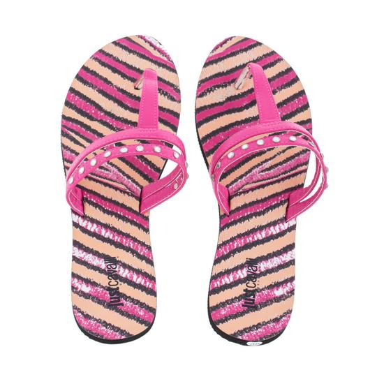 Preload https://item5.tradesy.com/images/just-cavalli-pink-new-women-crystals-embellished-t-strap-beach-flip-flops-flats-sandals-size-us-6-re-23336814-0-0.jpg?width=440&height=440