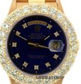 ROLEX 5.3CT 36MM ROLEX DAY-DATE 18K GOLD WATCH WITH BOX & APPRAISAL Image 0
