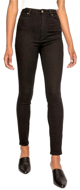 Preload https://item2.tradesy.com/images/2224-choclate-western-east-coast-ankle-skinny-jeans-size-24-0-xs-23336841-0-1.jpg?width=400&height=650