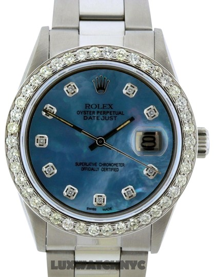 Preload https://item1.tradesy.com/images/rolex-16ct-36mm-datejust-ss-with-box-and-appraisal-watch-23336850-0-2.jpg?width=440&height=440
