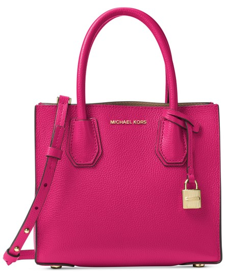 Preload https://item4.tradesy.com/images/michael-kors-mercer-medium-tote-pink-leather-cross-body-bag-23336853-0-0.jpg?width=440&height=440