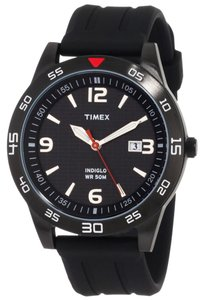 Timex Timex Male Ironman Watch T2N694 Black Analog