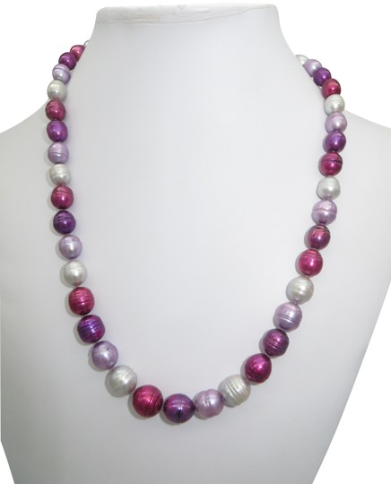 Preload https://img-static.tradesy.com/item/23336948/honora-purple-and-pink-pearl-necklace-0-2-540-540.jpg