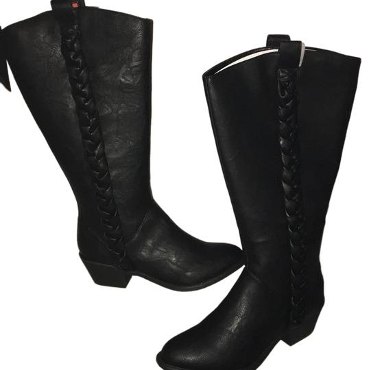 Preload https://item1.tradesy.com/images/unlisted-by-kenneth-cole-black-bootsbooties-size-us-8-regular-m-b-23336950-0-2.jpg?width=440&height=440