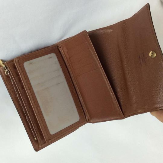 Louis Vuitton Classic Monogram Canvas Alexandra Wallet/ Organizer with Coin Pocket