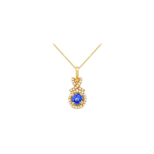 Preload https://item3.tradesy.com/images/blue-yellow-december-birthstone-tanzanite-cz-halo-pendant-gold-vermeil-necklace-23336982-0-0.jpg?width=440&height=440