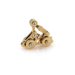 Cartier Movable Car Charm Pendant in 18k Two Tone Gold w/Certificate