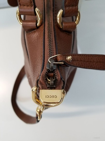 Gucci Tote Leather Shoulder Bag Image 2