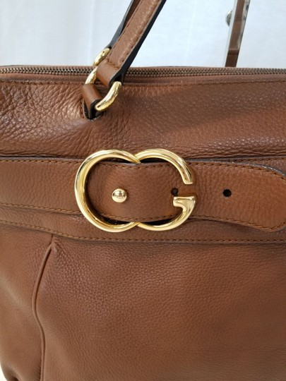 Gucci Tote Leather Shoulder Bag Image 3