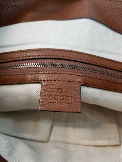Gucci Tote Leather Shoulder Bag Image 5