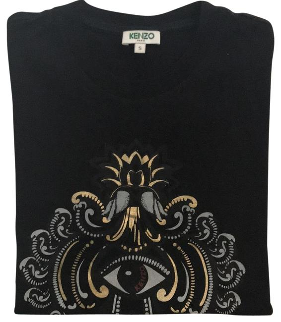 Preload https://item5.tradesy.com/images/kenzo-black-tee-shirt-size-4-s-23337039-0-1.jpg?width=400&height=650