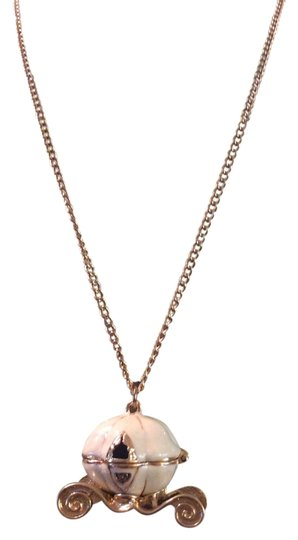 Betsey Johnson Betsey Johnson Carriage Necklace with Magnet closure