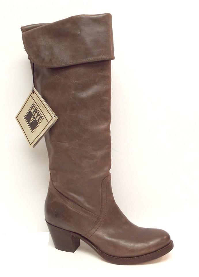 Frye Boots/Booties Taupe Brown Tall Cuff Boots/Booties Frye 1e43e4
