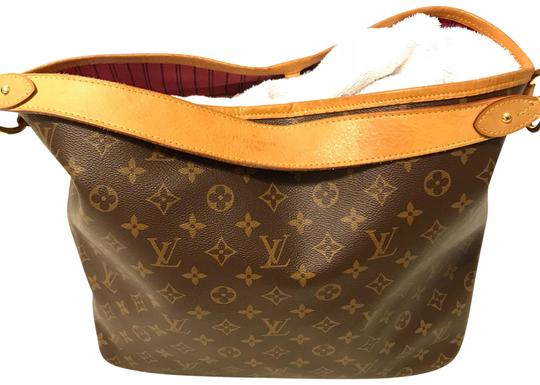 Preload https://item1.tradesy.com/images/louis-vuitton-delightful-mm-canvas-brown-leather-hobo-bag-23337080-0-6.jpg?width=440&height=440