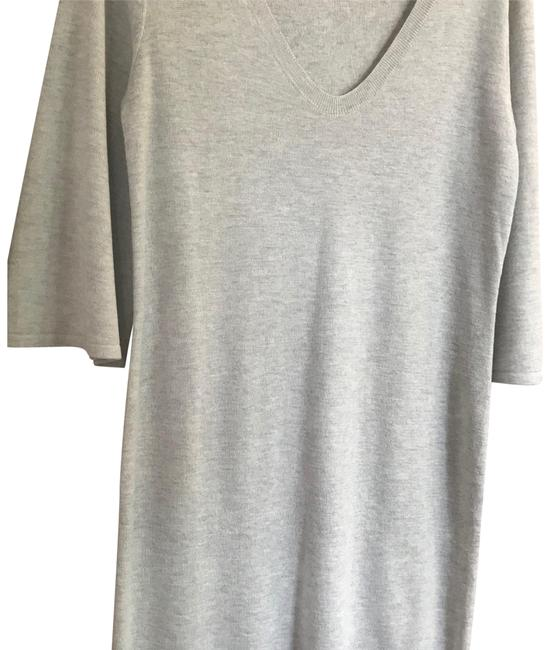 Preload https://img-static.tradesy.com/item/23337082/h-and-m-gray-nwot-sweater-short-casual-dress-size-8-m-0-2-650-650.jpg