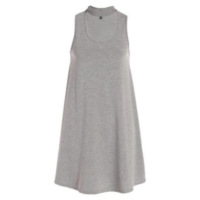 Preload https://item3.tradesy.com/images/topshop-grey-leopard-print-tunic-short-casual-dress-size-10-m-23337112-0-0.jpg?width=400&height=650