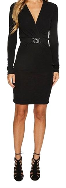 Preload https://item3.tradesy.com/images/just-cavalli-black-cavaliers-jersey-twist-front-snake-short-night-out-dress-size-2-xs-23337127-0-1.jpg?width=400&height=650