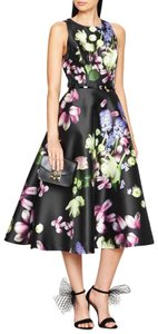 Ted Baker Prom Floral Sleeveless Midcalf Skater Dress
