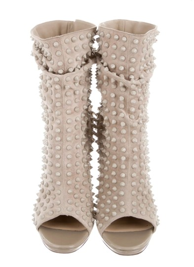 Preload https://item5.tradesy.com/images/christian-louboutin-beige-spiked-guerilla-120-ankle-bootsbooties-size-us-105-regular-m-b-23337244-0-0.jpg?width=440&height=440