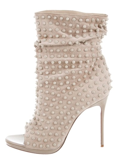 CHRISTIAN LOUBOUTIN Spiked Guerilla beige Boots Image 3
