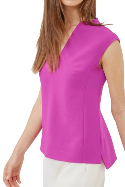 Ted Baker Purple Paysy Blouse Size 6 (S) Ted Baker Purple Paysy Blouse Size 6 (S) Image 1