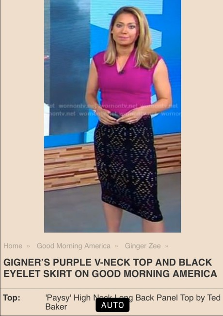 Ted Baker Top purple Image 4