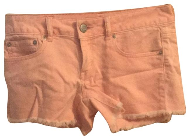 Preload https://item4.tradesy.com/images/american-eagle-outfitters-pink-jean-distressed-hem-minishort-shorts-size-6-s-28-23337258-0-1.jpg?width=400&height=650
