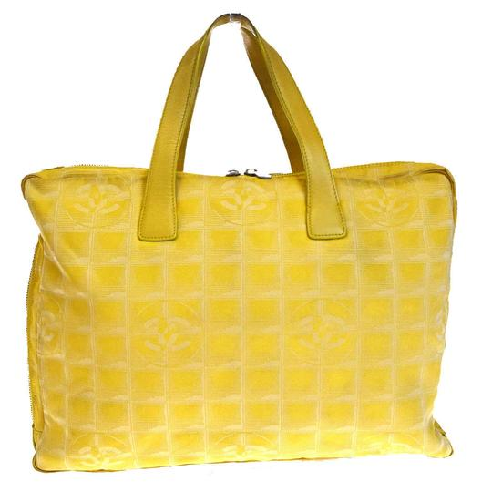 Chanel Made In Italy Satchel in Yellow
