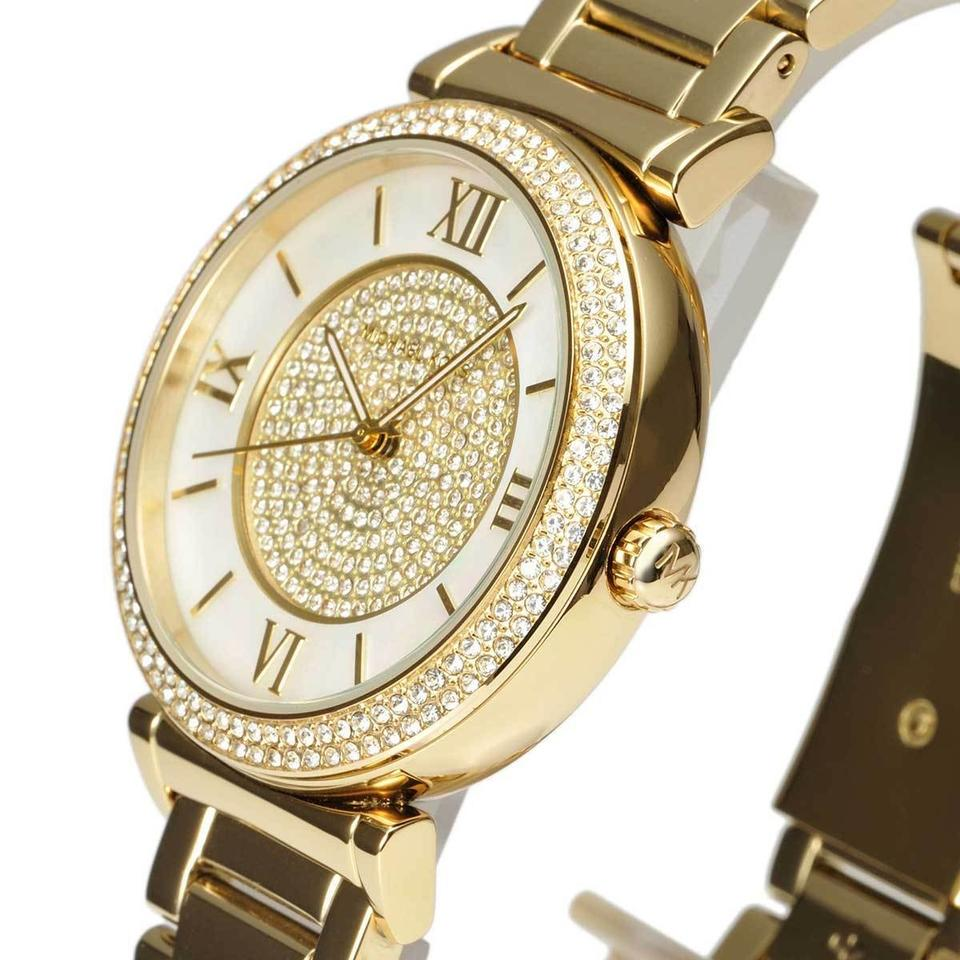 dd380ecb4f7c Michael Kors Michael Kors Women Catlin Mother of Pearl Dial Watch MK3332  Image 8. 123456789