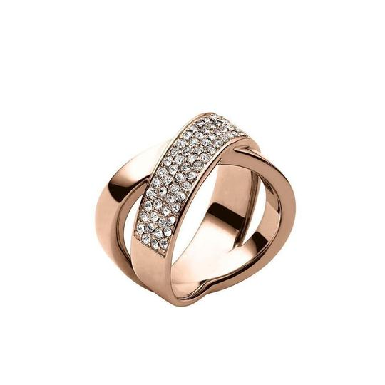 Preload https://item1.tradesy.com/images/michael-kors-collection-rose-gold-size-pvd-criss-cross-pave-mkj28697917-ring-23337300-0-0.jpg?width=440&height=440
