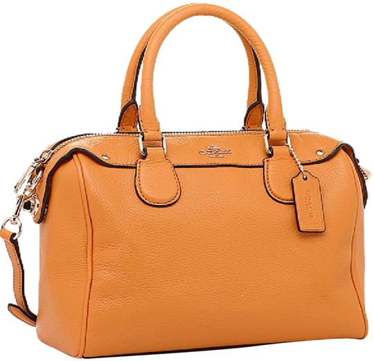 Preload https://img-static.tradesy.com/item/23337315/coach-bennett-yellow-orange-yellow-orange-leather-satchel-0-1-540-540.jpg