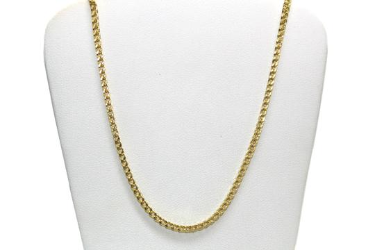 other 10KT. Yellow Gold Franco Chain with Diamond Fancy Pendant Charm Image 6