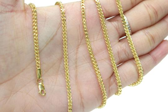 other 10KT. Yellow Gold Franco Chain with Diamond Fancy Pendant Charm Image 7