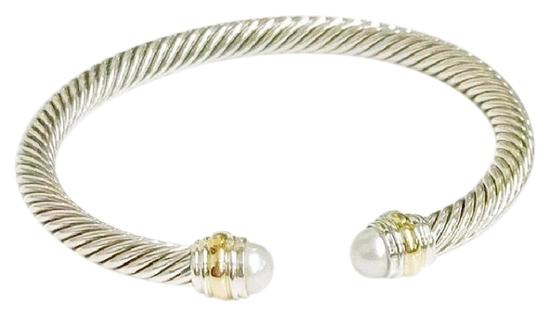 Preload https://img-static.tradesy.com/item/23337436/david-yurman-never-worn-pearl-14k-and-sterling-silver-cable-bangle-14k-yellow-gold-and-sterling-silv-0-1-540-540.jpg