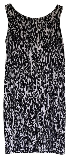 Preload https://img-static.tradesy.com/item/23337496/jm-collection-black-and-white-zebra-prints-mid-length-workoffice-dress-size-10-m-0-2-650-650.jpg