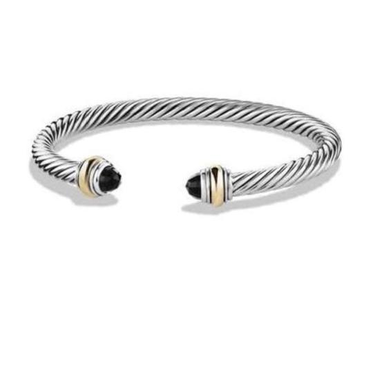 Preload https://item3.tradesy.com/images/david-yurman-never-worn-black-onyx-14k-and-sterling-silver-cable-bangle-14k-yellow-gold-and-sterling-23337527-0-0.jpg?width=440&height=440
