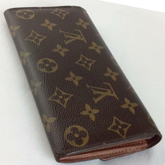 Louis Vuitton Classic Monogramed Lv Sarah Wallet
