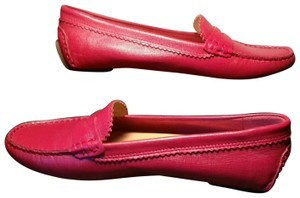 Bass Red Uppers & Tan Insoles Flats