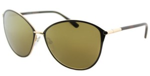 Tom Ford Tom Ford Unisex Sunglasses TF320 28G Brown/Gold Frame Gold Mirror Lens