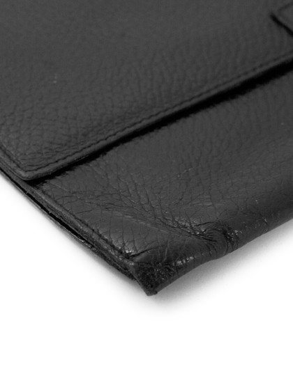 Smythson Travel Wallet black Clutch