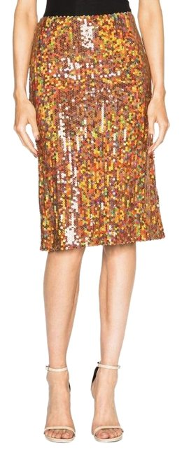 Preload https://item4.tradesy.com/images/nina-ricci-orange-copper-sequin-knee-length-skirt-size-2-xs-26-23337743-0-1.jpg?width=400&height=650