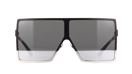 Saint Laurent Saint Laurent SL182 Betty 002 Black w/Grey and Silver Mirror Lens Image 2