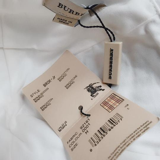 Burberry Burberry Hat Cap Sun Visor White With Blue Embroidery Size Jr